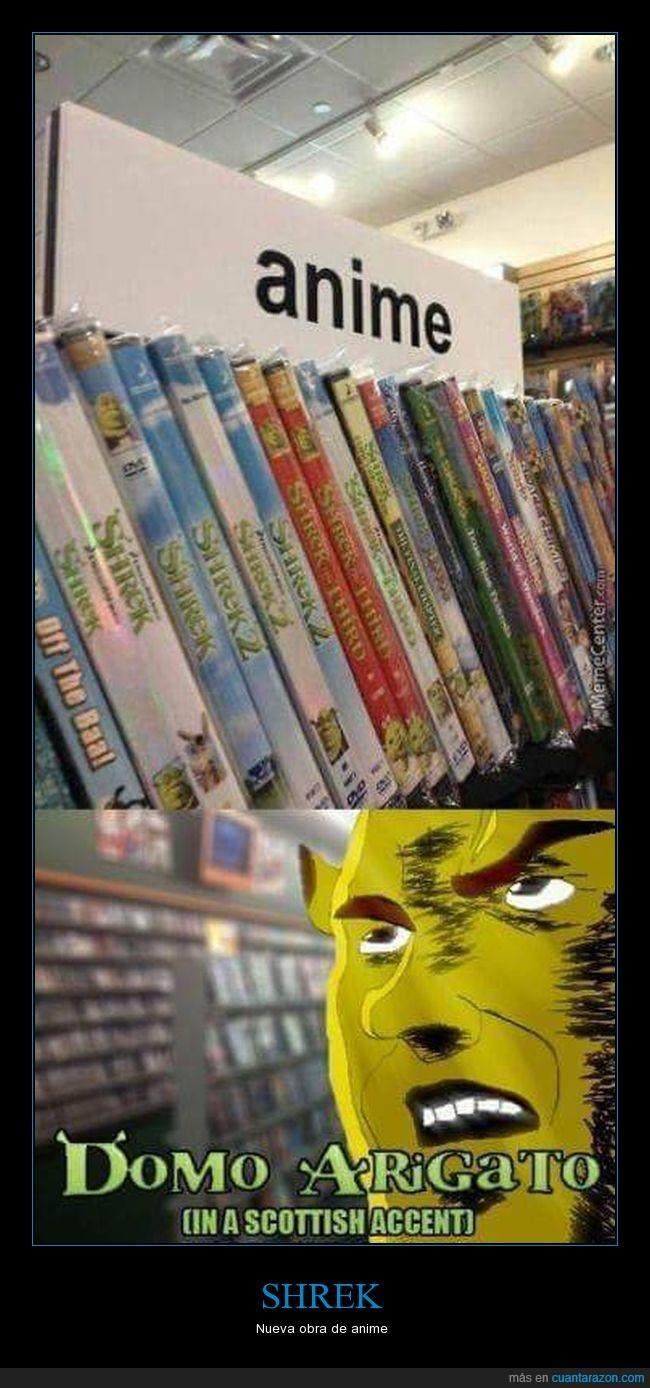 anime,películas,shrek
