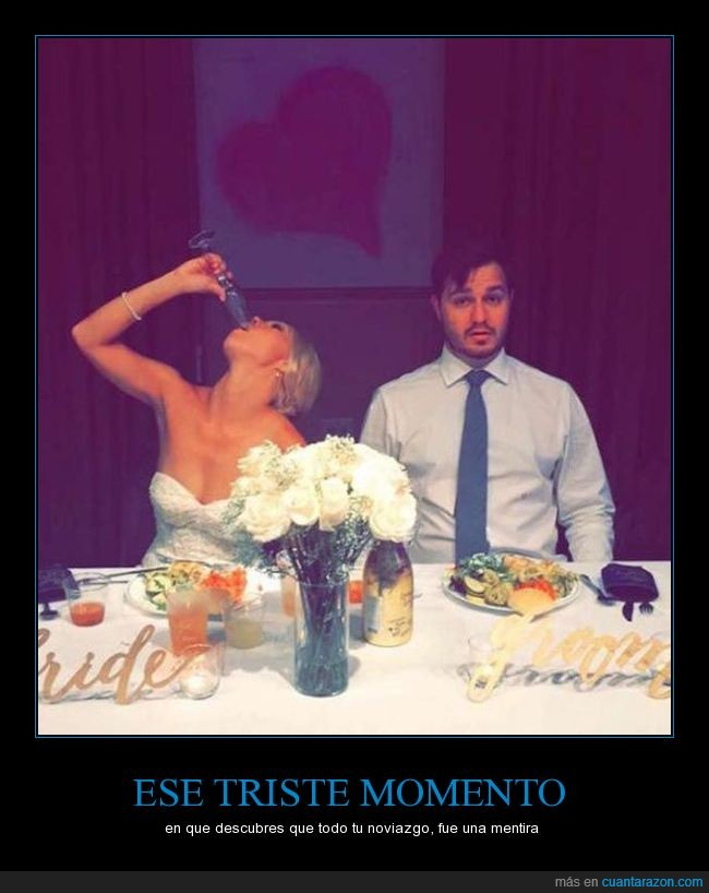 boda,ebria,sorpresa