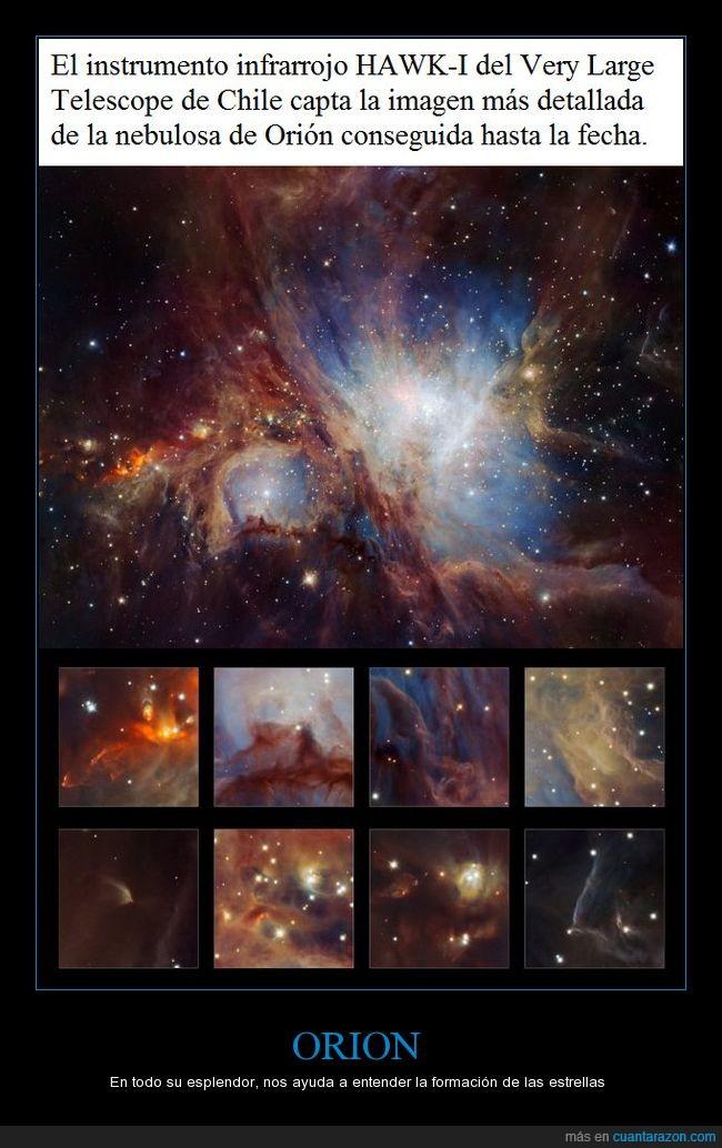 ESO/H,estrellas,nebulosa,orion,universo,vlt