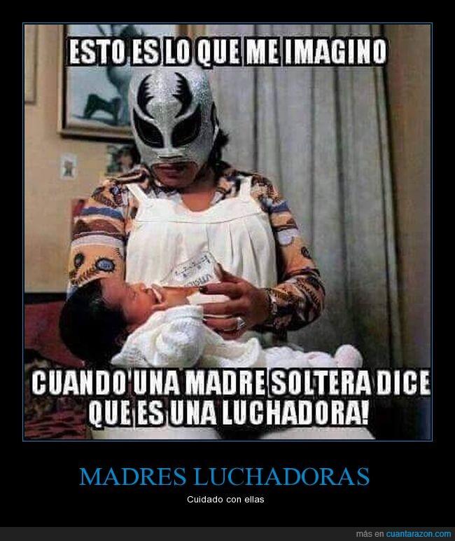 lucha libre,luchadora,madre,soltera