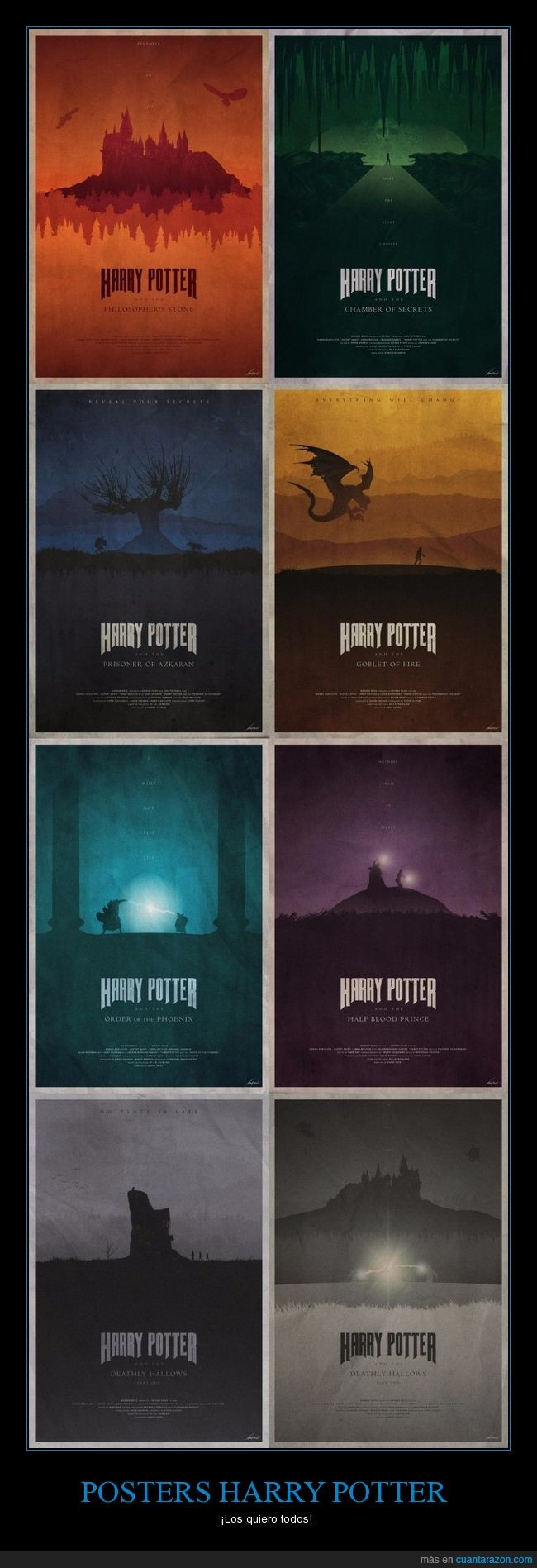 harry potter,minimalista,poster
