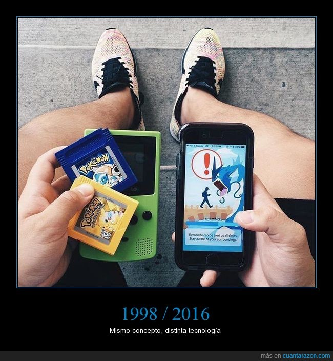 consola,gameboy,jugar,pokémon go,teléfono