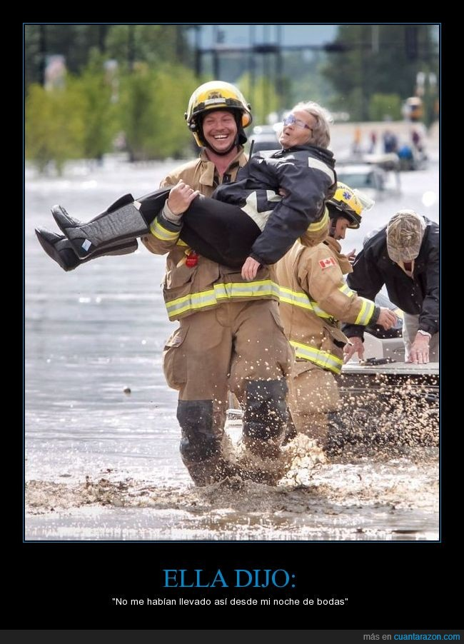 anciana,bombero,canada,rescate