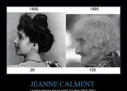 Enlace a JEANNE CALMENT