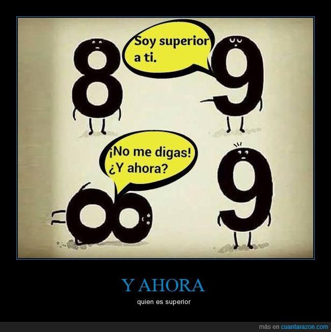 8.9,humor,infinito no puede ser comparado con numero,la sonrisa picarona del 8