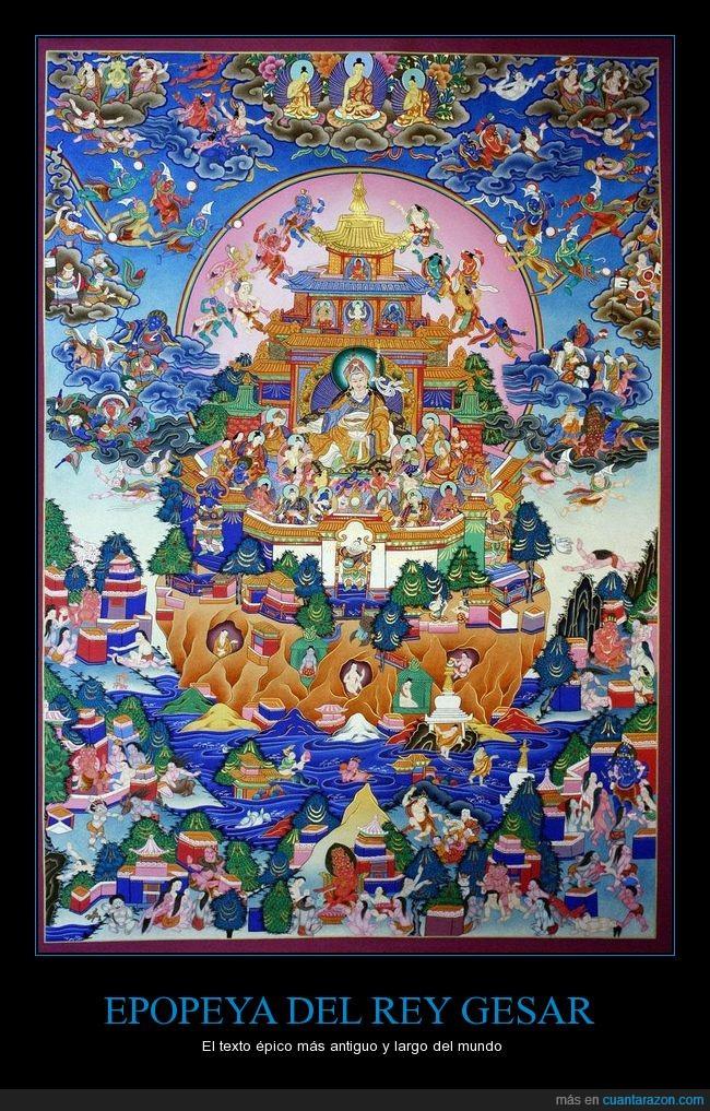 antigüedad,China,epopeya,Gesar,humor amarillo,mongol,Tibet