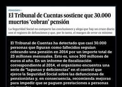 Enlace a El Tribunal de Cuentas sostiene que 30.000 muertos 'cobran' pensión