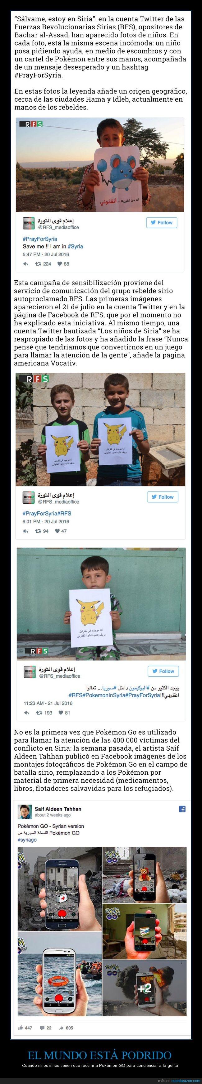 ayuda,pokémon go,siria