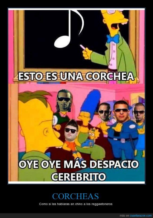 corchea,más despacio cerebrito,música,reggaeton