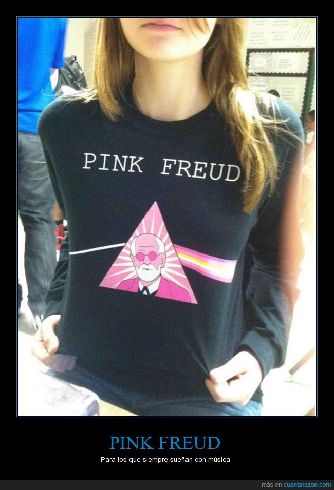 freud,jersei,música,pink floyd,pink freud,sueños