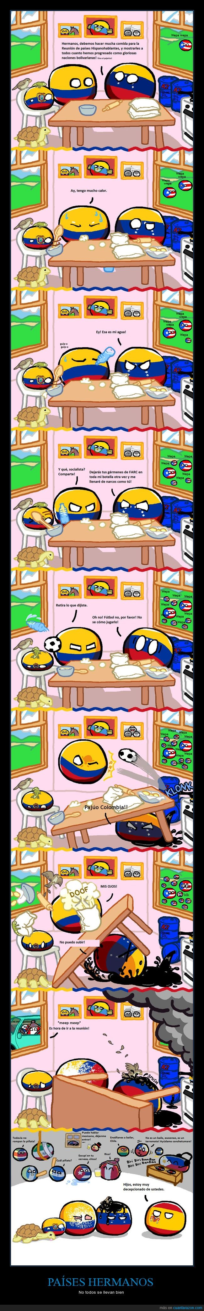 Colombia,Ecuador,España,latinoamericano,Venezuela