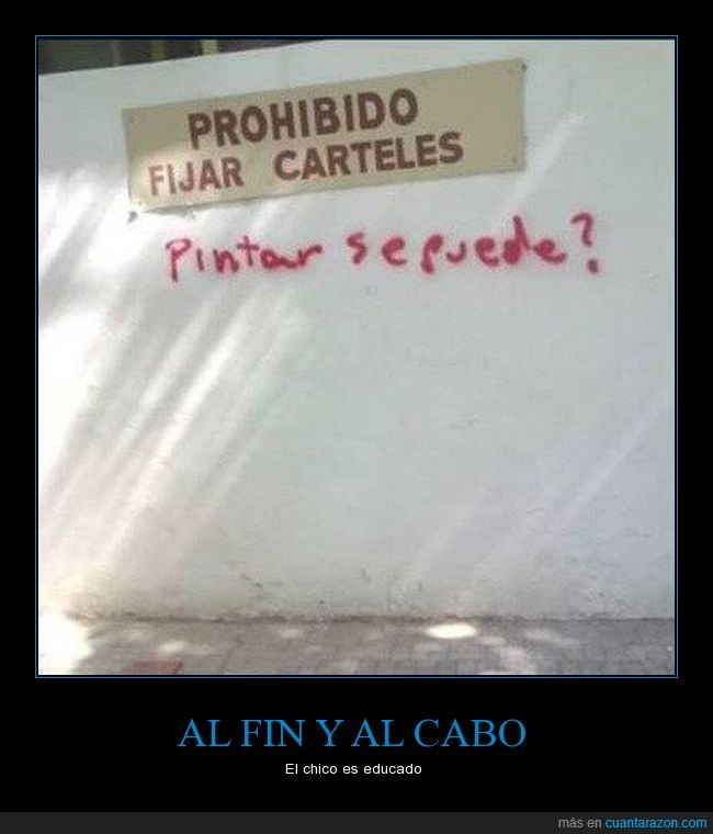 cartel,graffiti,humor,pared,pintada