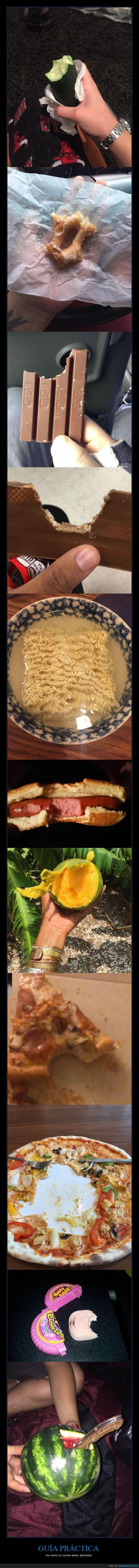 comer,comida,raro