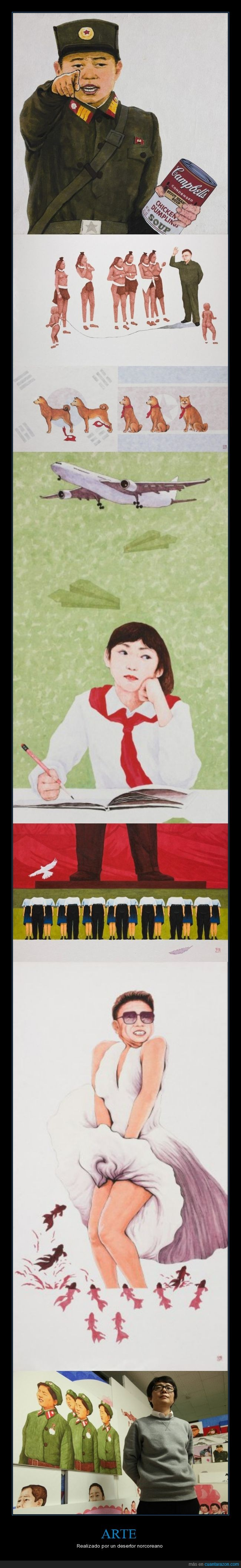 Arte,Corea,Cultura,Norte,Pintura,reivindicación,Stark