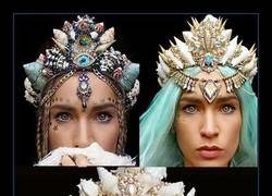 Enlace a Las coronas de flores ya no están de moda