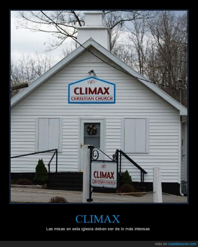 christian church,climax,iglesia