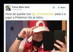Enlace a Hay gente que se toma muy en serio Pokémon GO