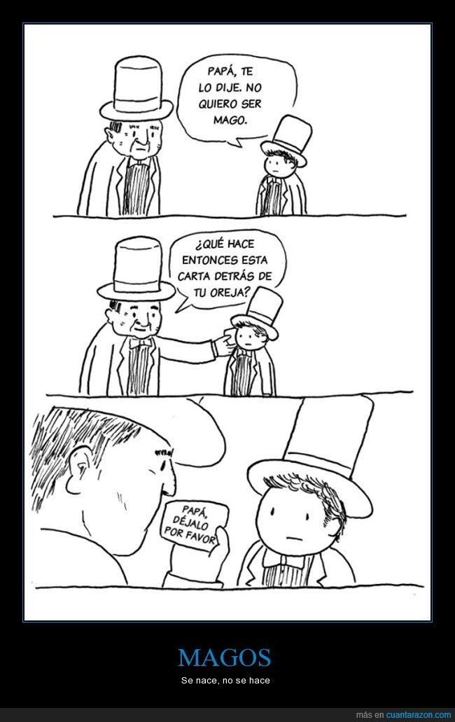 hijo,mago,talento