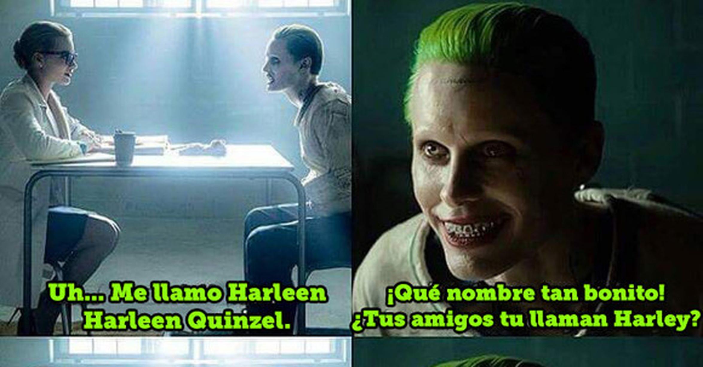 Así fue el primer encuentro entre el Joker y Harley Quinn