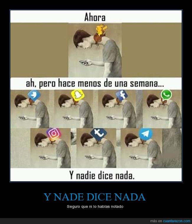 facebook,pokemon go,snapchat,tumblr,twitter,whatsapp