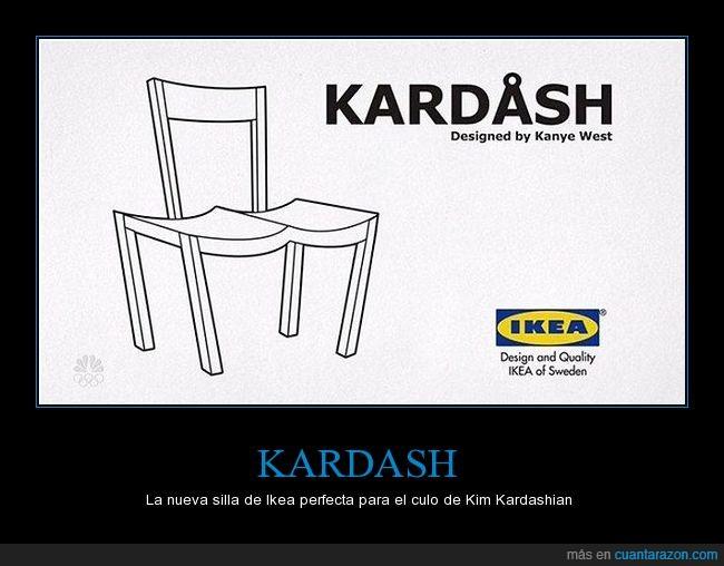 diseño,ikea,kanye west,kardashian,silla