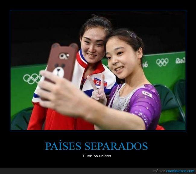 Juegos Olimpicos,Korea del Norte,Korea del Sur