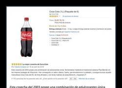 Enlace a Vende una CocaCola por 76€ y recibe las mejores reviews de la historia