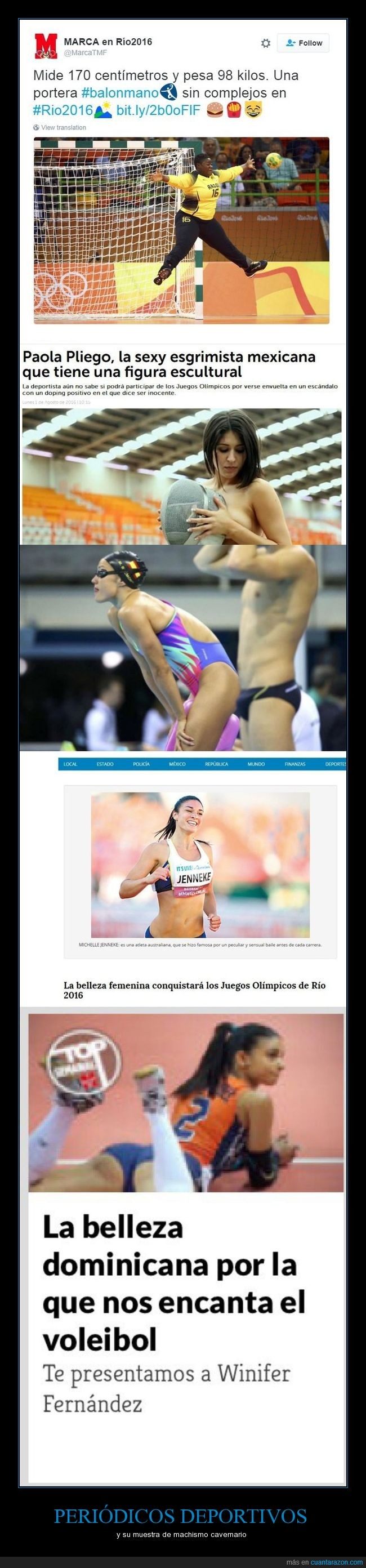 Brasil,Feminismo,Lacra,Machismo,Marca,Me Río de Janeiro,Olimpiadas,Sociedad,Yes we can