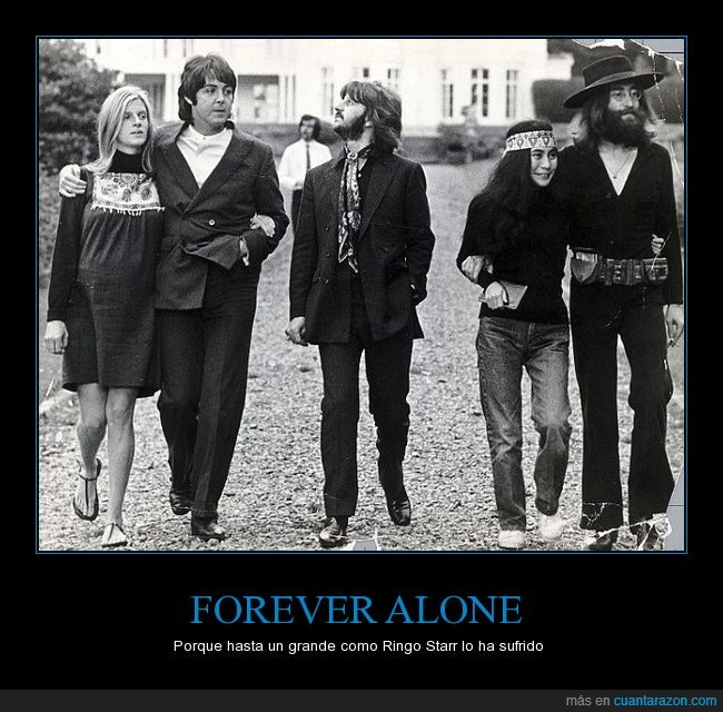 John Lennon,Linda McCartney,Paul McCartney,Ringo Starr,The Beatles,Yoko Ono