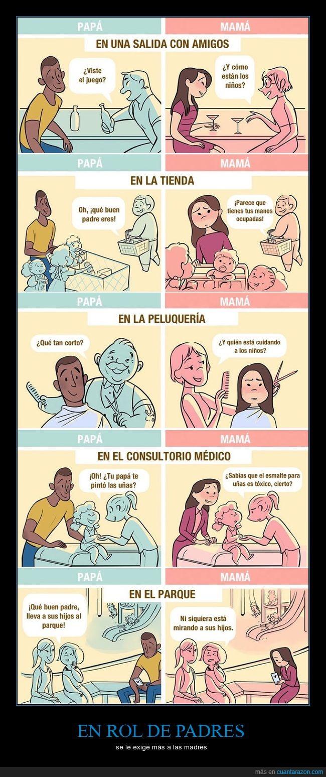 agobio,hijos,madres,padres,presión