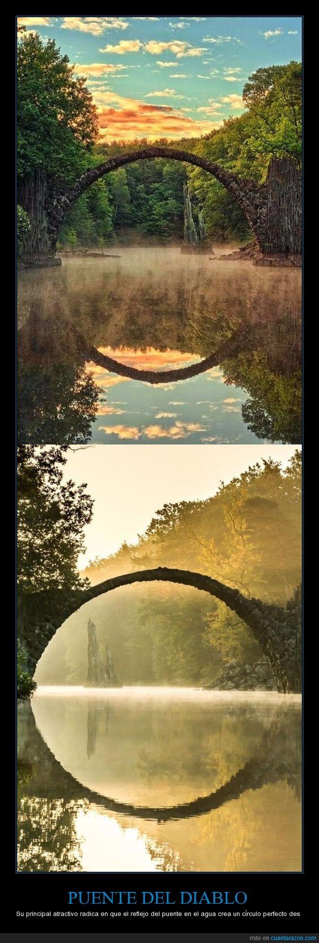 alemania,kromlau,puente del diablo