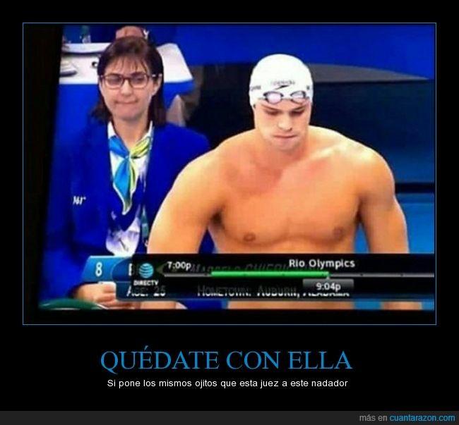 jjoo,juegos olímpicos,juez,nadador,natación