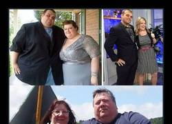 Enlace a 13 Fotos de antes y después de parejas perdiendo peso juntas