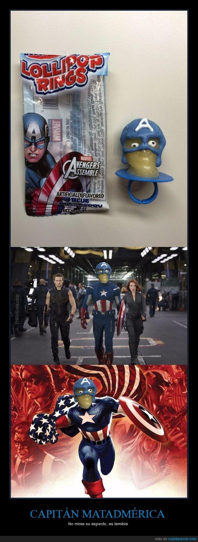 capitán américa,deforme,lollipop