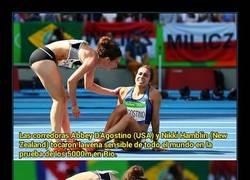 Enlace a Historia de verdadero espíritu olímpico que toca la fibra sensible a todo el mundo