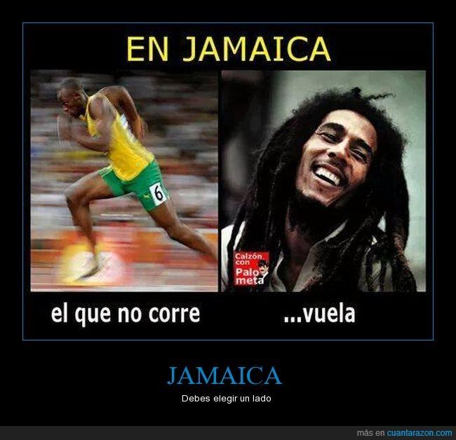 Bob Marley,correr,Reggae,usain Bolt,volar