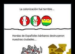 Enlace a La colonización fue terrible por parte de los españoles