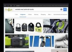 Enlace a Cuando buscas en Google y Bing