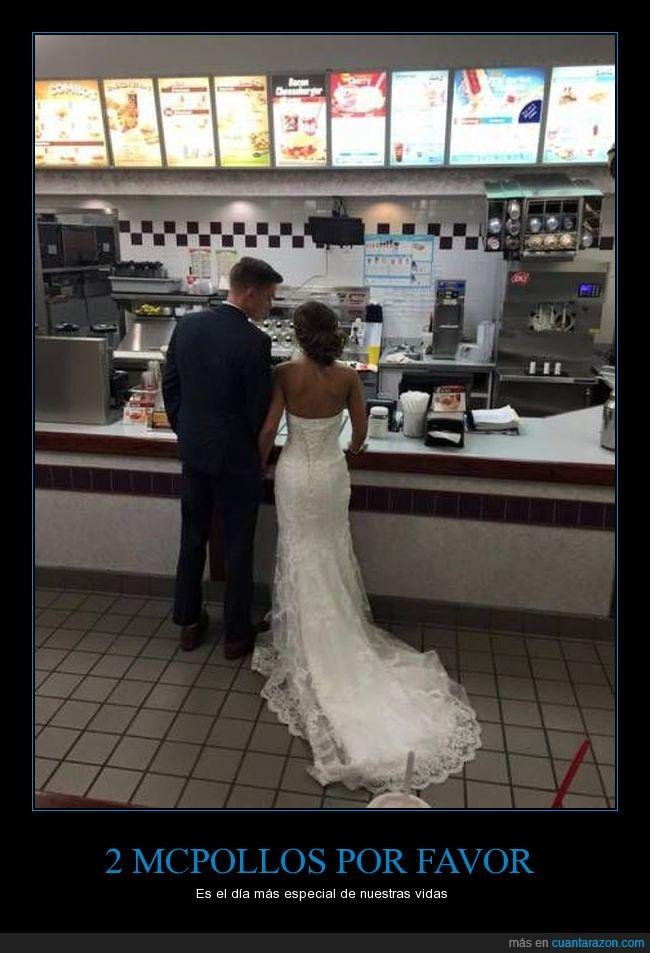 boda,mcdonalds,mcmenú