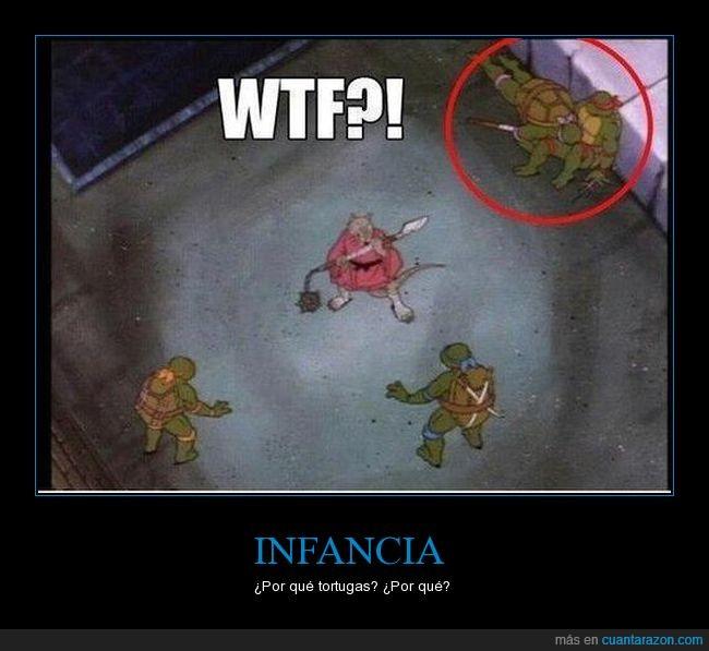 pose rara,tortugas ninja,wtf