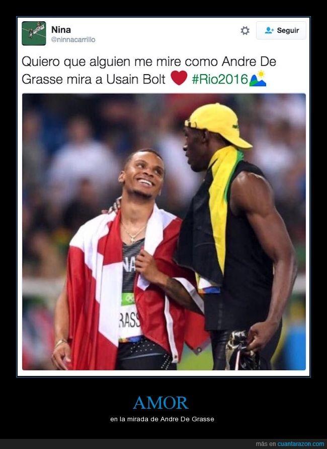 Andre De Grasse,olimpiadas,Usain Bolt