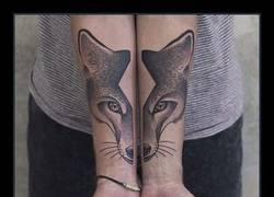 Enlace a Los tatuajes simétricos más espectaculares