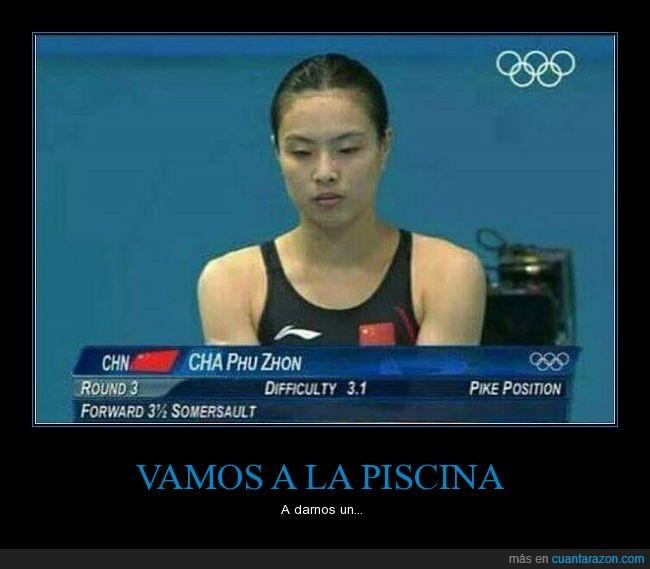 chapuzón,extranjero,juegos olímpicos,nombre,tiene que ser fake