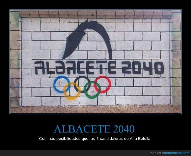 albacete,jjoo,juegos olímpicos