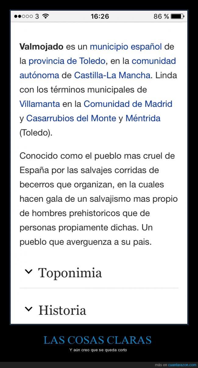 becerro,cruel,España,español,municipio,pueblo,salvajismo,Toledo,toro,Valmojado
