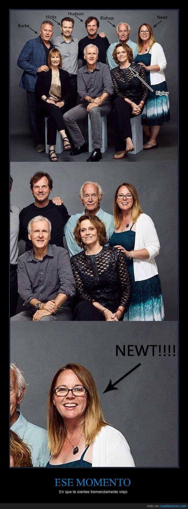 actriz,alien,Aliens,ese momento,Newt,viejo