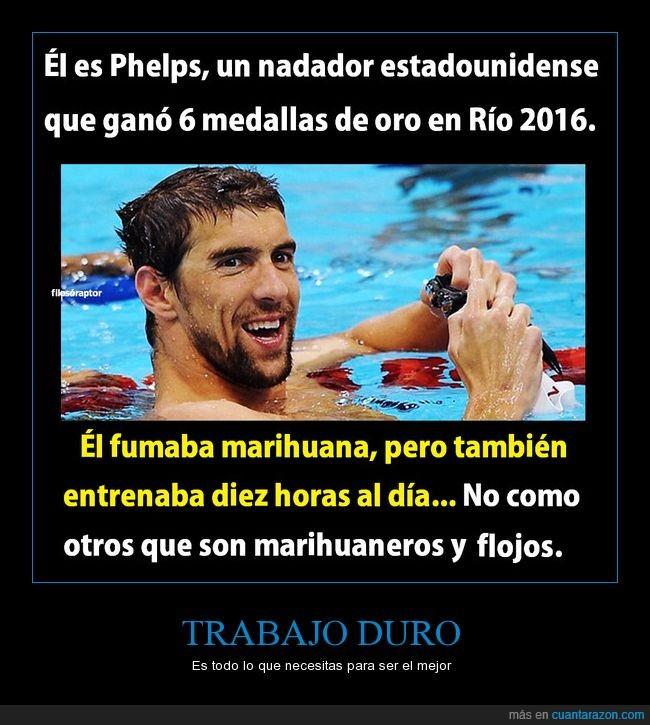 droga,fumar,juegos,marihuana,medalla,nadar,olimpicos