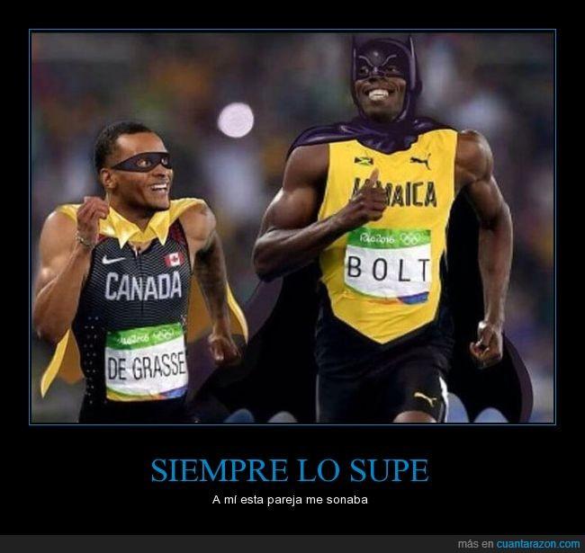 De Grasse,Olimpiadas,Usain Bolt