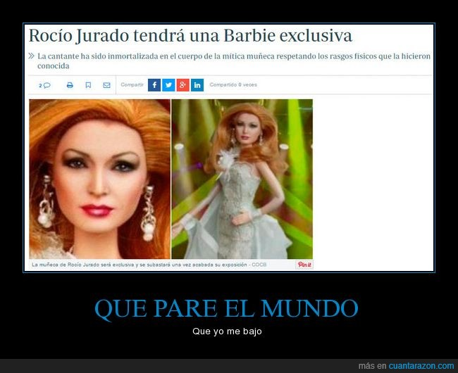 Barbie,exclusiva,muñeca,Rocio Jurado