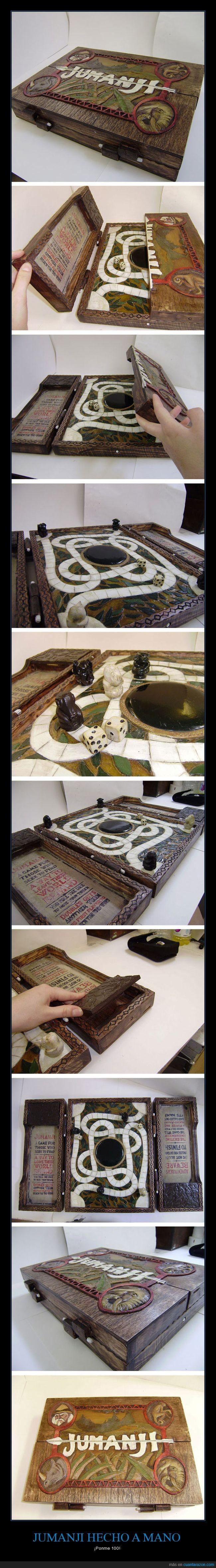 artesanal,juego,jumanji,manual